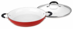 Cuisinart 5925-30DR Elements Everyday Pan, Non-Stick, Cherry Red, 12-In.
