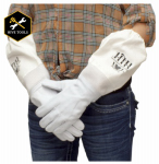 Harvest Lane Honey CLOTHGM-103 Beekeeping Gloves, Goat Skin, Medium