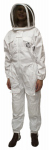 Harvest Lane Honey CLOTHSL-101 Beekeeping Suit, Cotton & Polyester, Large