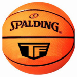 Spalding Sports Div Russell 51161 High-Bounce Ball, NBA Orange