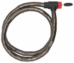 Bell Sports 7014487 Ballistic 500 Armored Cable Bicyle Lock, 5-Ft. x 18mm