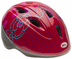 Bell Sports 7063269 Toddler Girls' Zoomer Jump Bicyle Helmet, Red