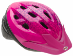 Bell Sports 7063276 Girls' Rally Bicyle Helmet, Pink