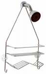 Zenith/Bathware 7518SS Shower Caddy, Chrome, Small
