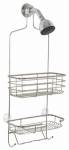 Zenith/Bathware 7704S Shower Caddy, Chrome, Large