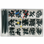Orbit Irrigation Products 69500 92PC Universal Drip Parts