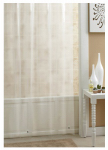 Ex-Cell Home Fashions 1ME-048O0-0899-961 Shower Curtain/Liner, Frosty Peva, 70 x 71-In.