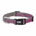 Weaver Leather 07-0851-C2 Terrain Snap-N-Go Dog Collar, Leaves, Nylon, Medium