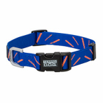 Weaver Leather 07-0851-C4 Terrain Snap-N-Go Dog Collar, Sun Ray, Nylon, Medium