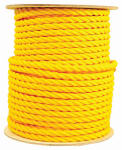 Wellington Cordage 30254 5/8-Inch x 300-Ft. Yellow Polypropylene Rope