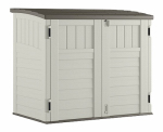 Suncast BMS2500 Storage Shed, Horizontal, Double-Wall Resin, 34-Cu. Ft.