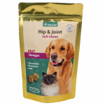 American Distribution & Mfg 03580 Dog Treats, Hip & Joint Soft Chews, 120-Ct.