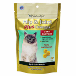 American Distribution & Mfg 03589 Cat Treats, Hip & Joint Plus Soft Chew, 50-Ct.