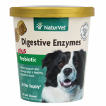 American Distribution & Mfg 03699 Dog Treats, Digestive Enzymes & Probiotics Chews, 70-Ct.