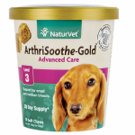 American Distribution & Mfg 03725 Dog Treats, Arthrisoothe Gold Soft Chews, 70-Ct.