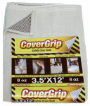Spark Innovation 351208 Safety Drop Cloth, Slip Resistant, 3.5 x 12-Ft.