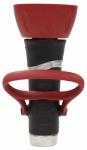 Fiskars Garden Watering 50503GP Pro Hose Nozzle, Heavy-Duty Zinc, Fireman Lever