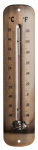 Headwind Consumer Products 840-0064 Thermometer, Metal with Bronze Finish, 12-In.