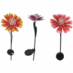 Smart Solar 3045WRM1 Solar Flower Stake, Colorful