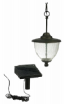 Sterno Home GL28649BK Solar Gazebo Pendant Light