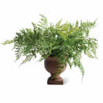 "K&K Interiors 10077B 15"" Potted Parsley Fern"