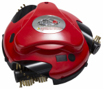 Grillbot GBU101-RED Automatic Grill Cleaning Robot, Red