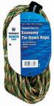 Wellington Cordage 73394 1/4-Inch x 50-Ft. Camouflage Polypropylene Rope