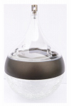 Very Cool Stuff SCGTSDC Solar Accent Light for Hanging Baskets, Teardrop Shape, 3-In.