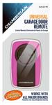 Chamberlain KLIK3U-PK Garage Door Opener, Universal Remote Control, Pink