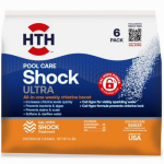 Arch Chemical 52014 HTH 6 Pack ULT Shock