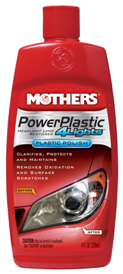 Mothers 08808 PowerPlastic 4Lights, 8-oz. - Quantity 6