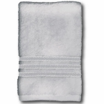 Sam Hedaya 8181-BATH/GRAY Bath Towel, Gray Cotton, 27 x 54-In.