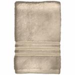 Sam Hedaya 8181-BATH/LATTE Bath Towel, Tan Cotton, 27 x 54-In.