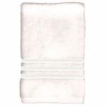 Sam Hedaya 8181-BATH/WHT Bath Towel, White Cotton, 27 x 54-In.