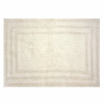 Sam Hedaya R0008-LATTE Bath Rug, Tan Cotton, 21 x 32-In.