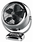 Vornado Fans CR1-0224-29 VFan Junior Vintage Air Circulator, Chrome Metal