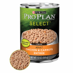 American Distribution & Mfg 15337 Dog Food, Can, Grain-Free Chicken & Carrots, 13-oz.