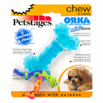 Petstages 0221 Dog Toy, Mini Orka Bone