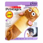 Petstages 0633 Dog Toy, Lil Squeak Monkey