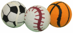 "Multipet International 29163 3PK 2.5""Tennis Ball Toy"