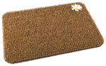 Grassworx 10372019 Daisy Wheatfield  Scraper Doormat, 18x24-In.