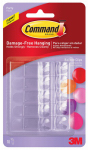 3M 17805CLR-ES Command Balloon Clips, 10-Pk.