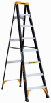 Louisville Ladder DXL3210-08 Step Ladder, Type II, Fiberglass, 8-Ft.