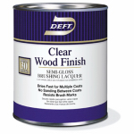 Deft/Ppg Architectural Fin DFT011/04 Wood Finish, Clear Semi-Gloss, 1-Qt.