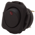 Gardner Bender GSW-50 Illuminated Rocker Switch, Red, Medium Duty