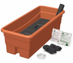 Novelty Mfg 80655 Earthbox Junior Organic Container Garden Kit, Terra Cotta