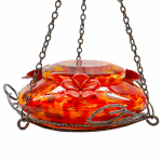 Natures Way Bird Products GHF5 Hummingbird Feeder, Molten Garden Series