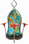 Natures Way Bird Products TJHF4 Hummingbird Feeder, Ocean Wave