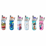 O2cool HMCMA01 Kids Disney Mist N Sip  Water Bottle, 12-oz.