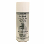 True Value Mfg PD1354-AER Gloss Lacquer Finish, White, 12-oz.